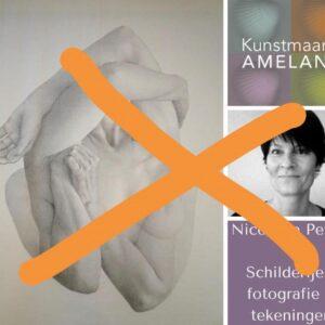 Kunstmaand Ameland gecanceld
